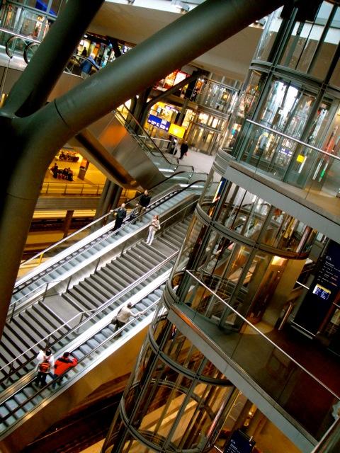 Estação central da cidade
