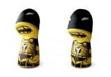 Toy art feito com embalagens de desodorante (eu acho)