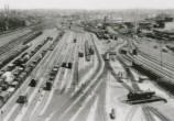 Vista da estação em 1935