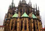 A catedral gótica de São Vito, do século XIV