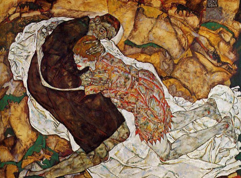 """Egon Schiele: """"Tod und Mädchen"""""""