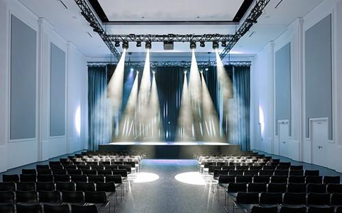 Auditório para palestras e shows.